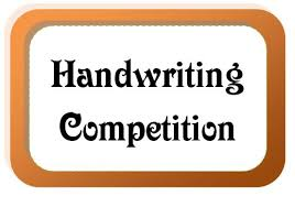 Handwriting Competition